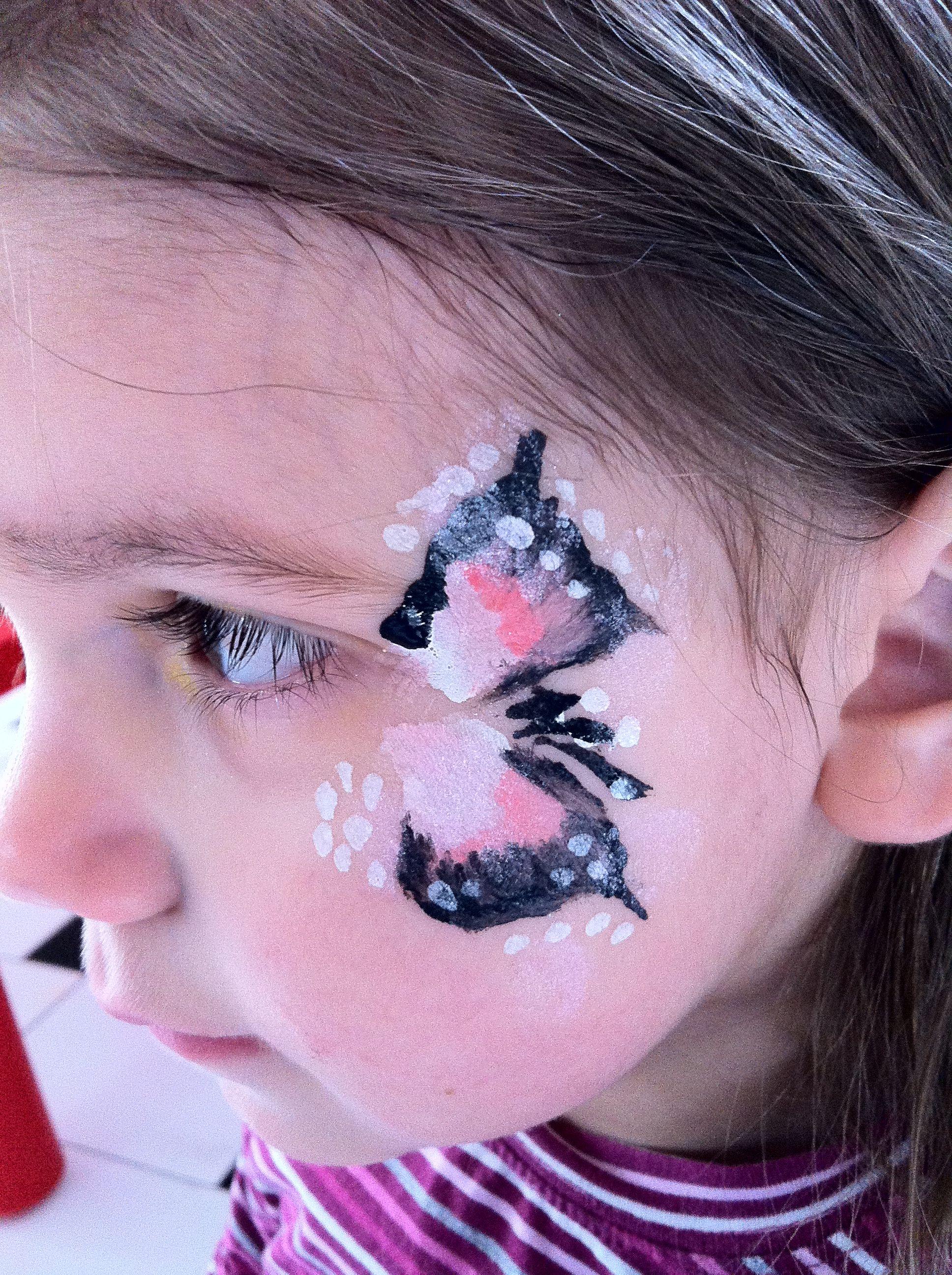 Yuz Boyama Kelebek Face Painting Butterfly Kelebekler Yuzler