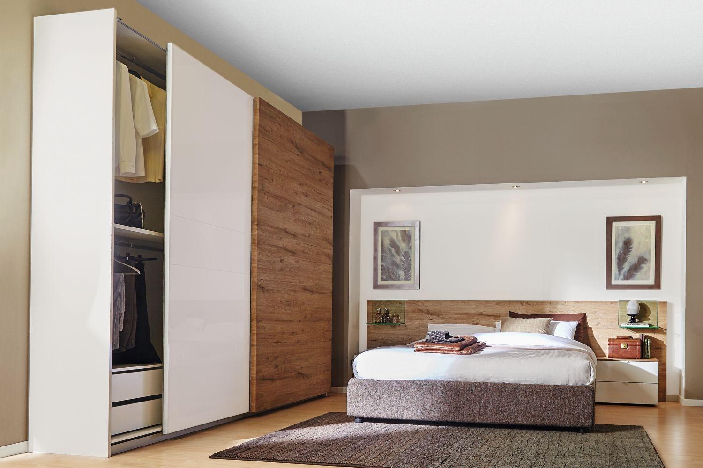 Ricci Casa Camere Da Letto.Armadio Toronto Miele E Bianco Idee Per Decorare La Casa