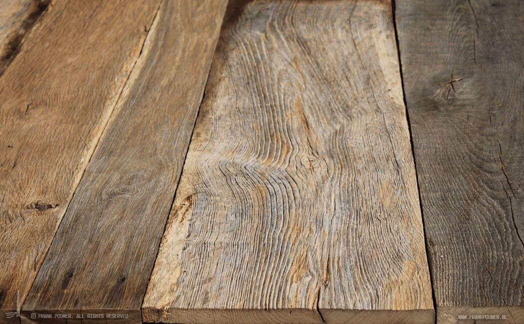 Eiken barnwoodplanken nieuw in ons assortiment: oud eiken barnwood