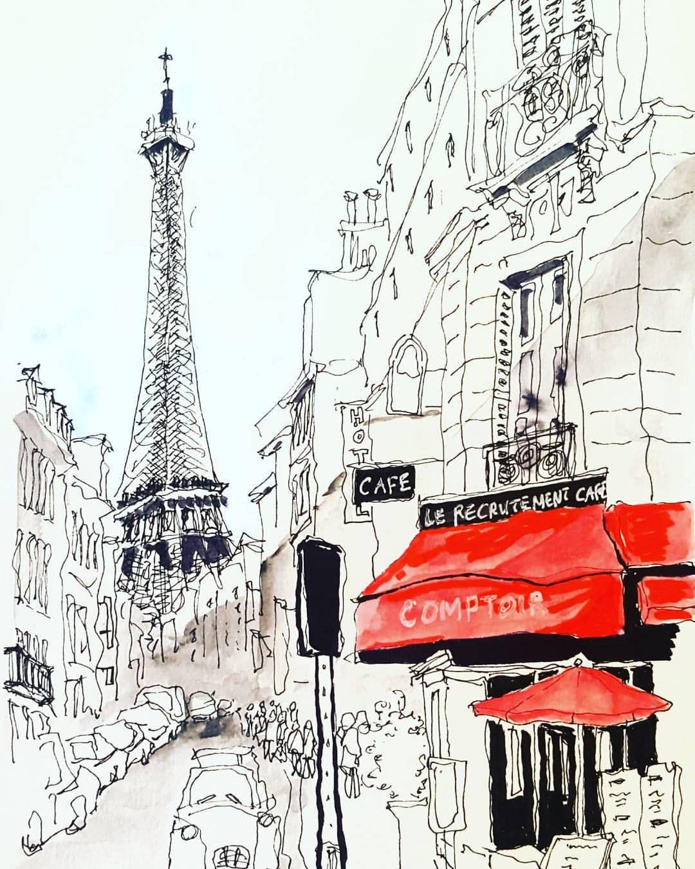 Остров сокровищ, открытки улицы парижа