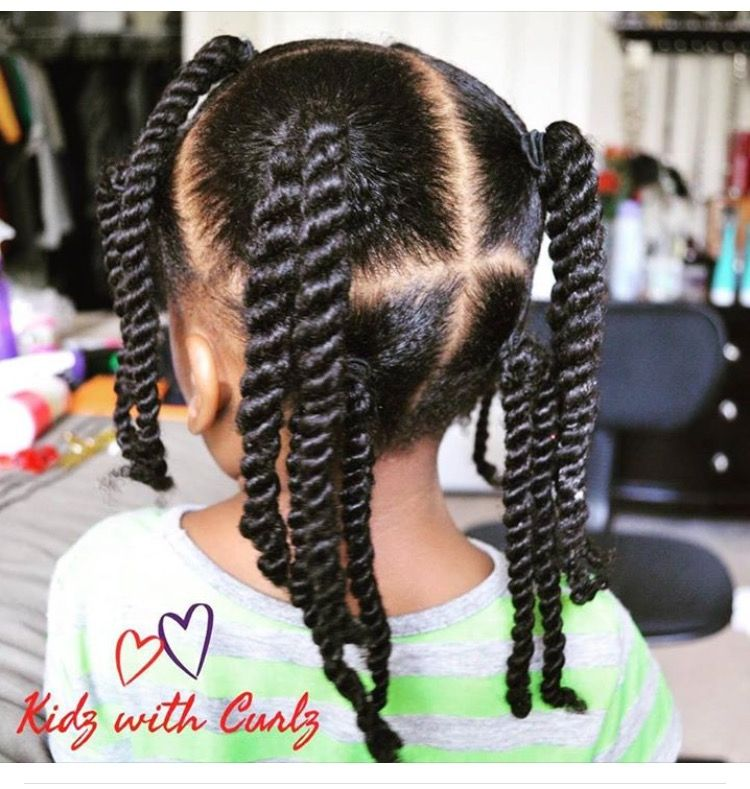 baby do hairstyle natural hair Coiffure fillette