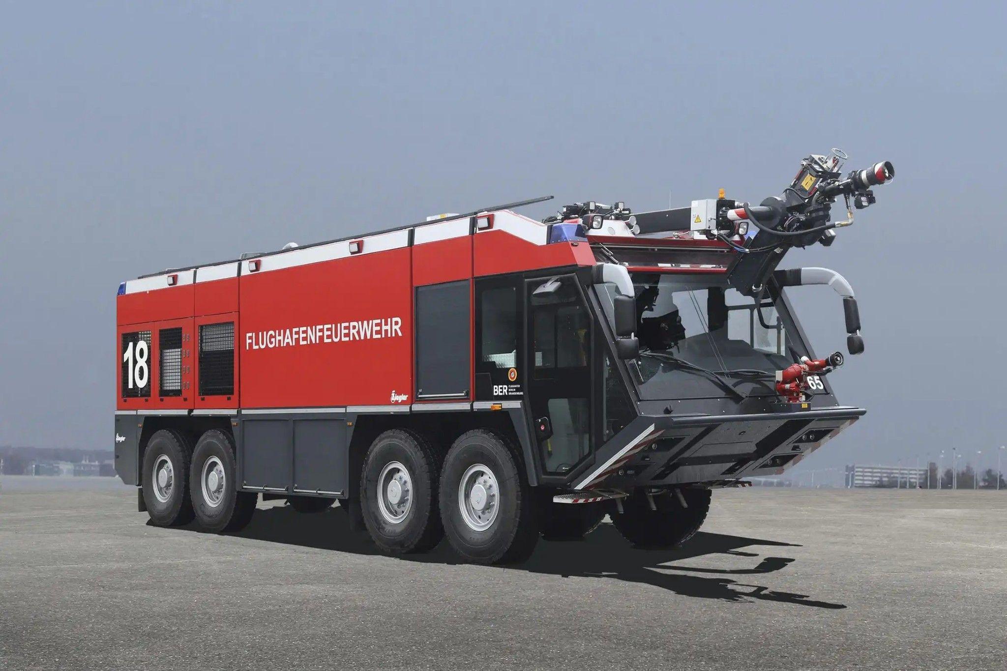 airport fire truck / 8x8 Z8 ZATTACK