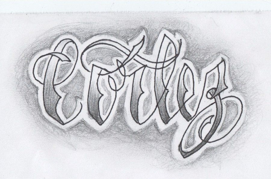 Tato Art Styles: Lettering Tattoo Style By