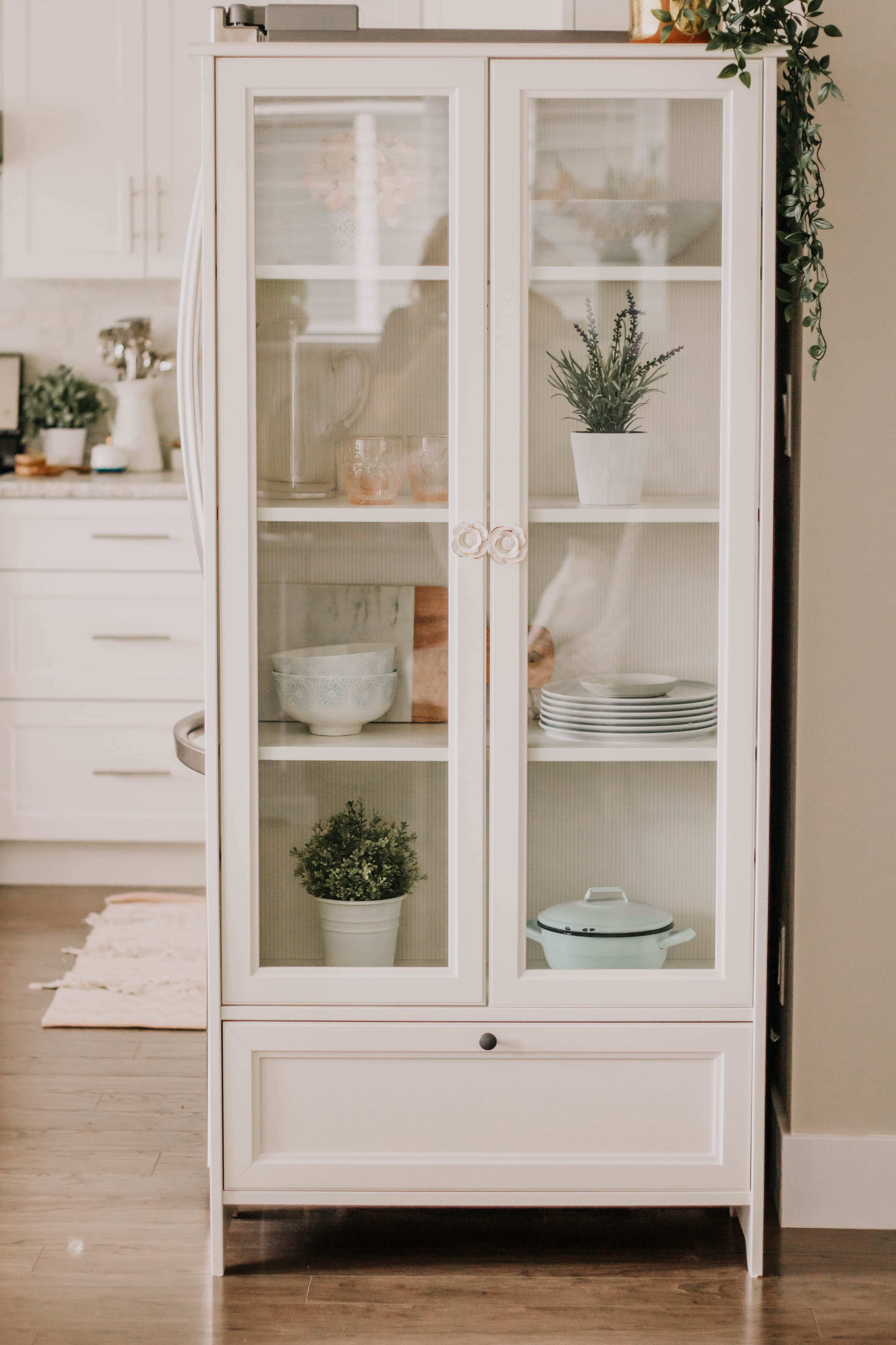 Small Things Ikea Glass Cabinet Kitchen Display Cabinet Ikea