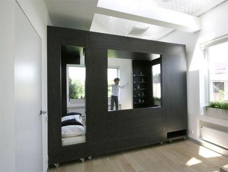 House · rolling modular room design transforms interior spaces designs ideas on dornob