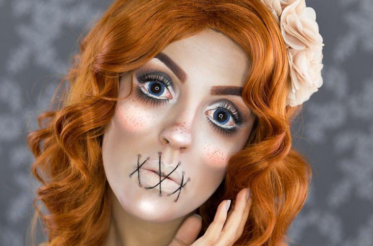 Maquillaje halloween hacerlo paso a paso