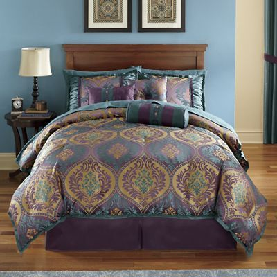 Pompeii 21 Piece Jacquard Bed Set From Montgomery Ward Sw723357