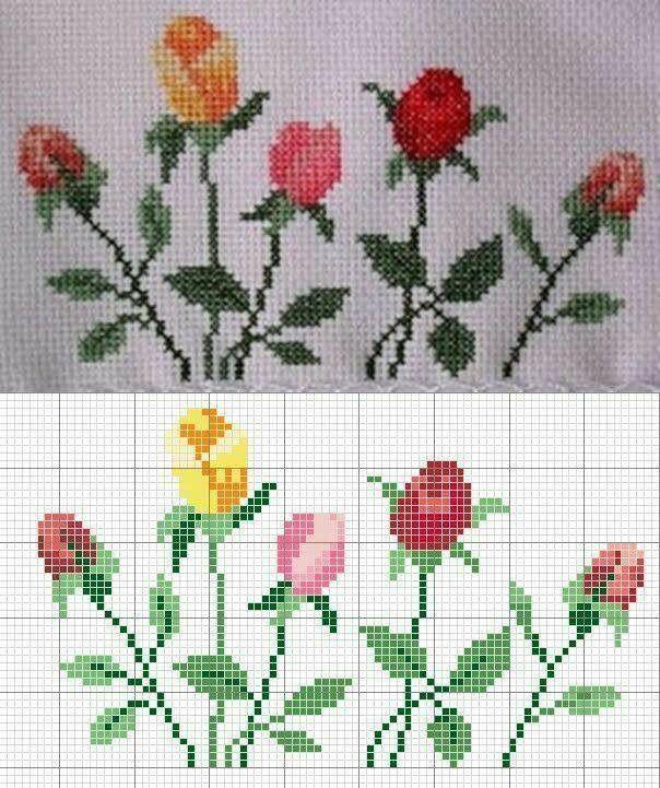 Sevilay | Desenler Sevilay | Pinterest | Cross stitch, Stitch and ...