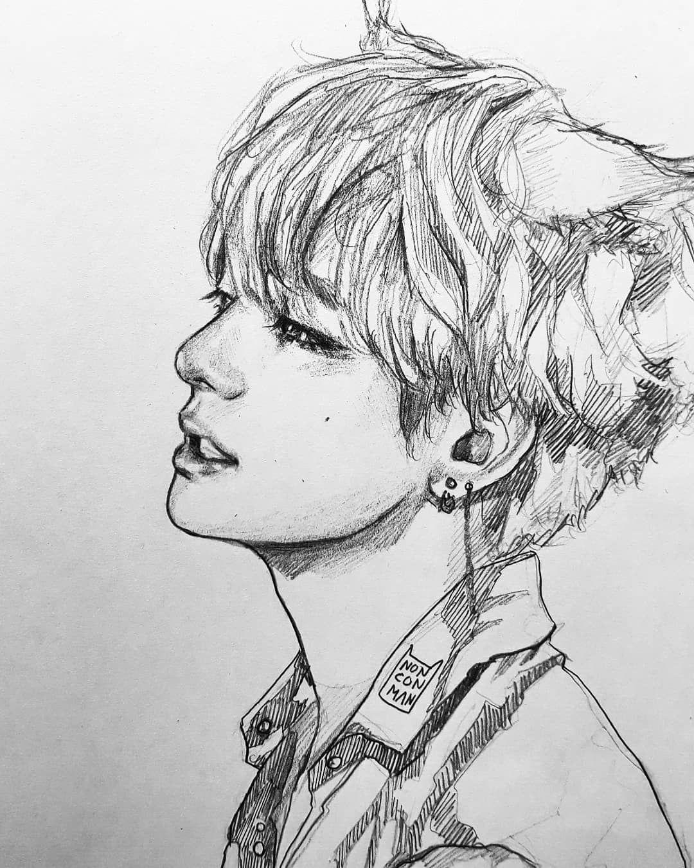 (@nonconman) | BTS | Pinterest | BTS Zeichnungen Und Zeichnen