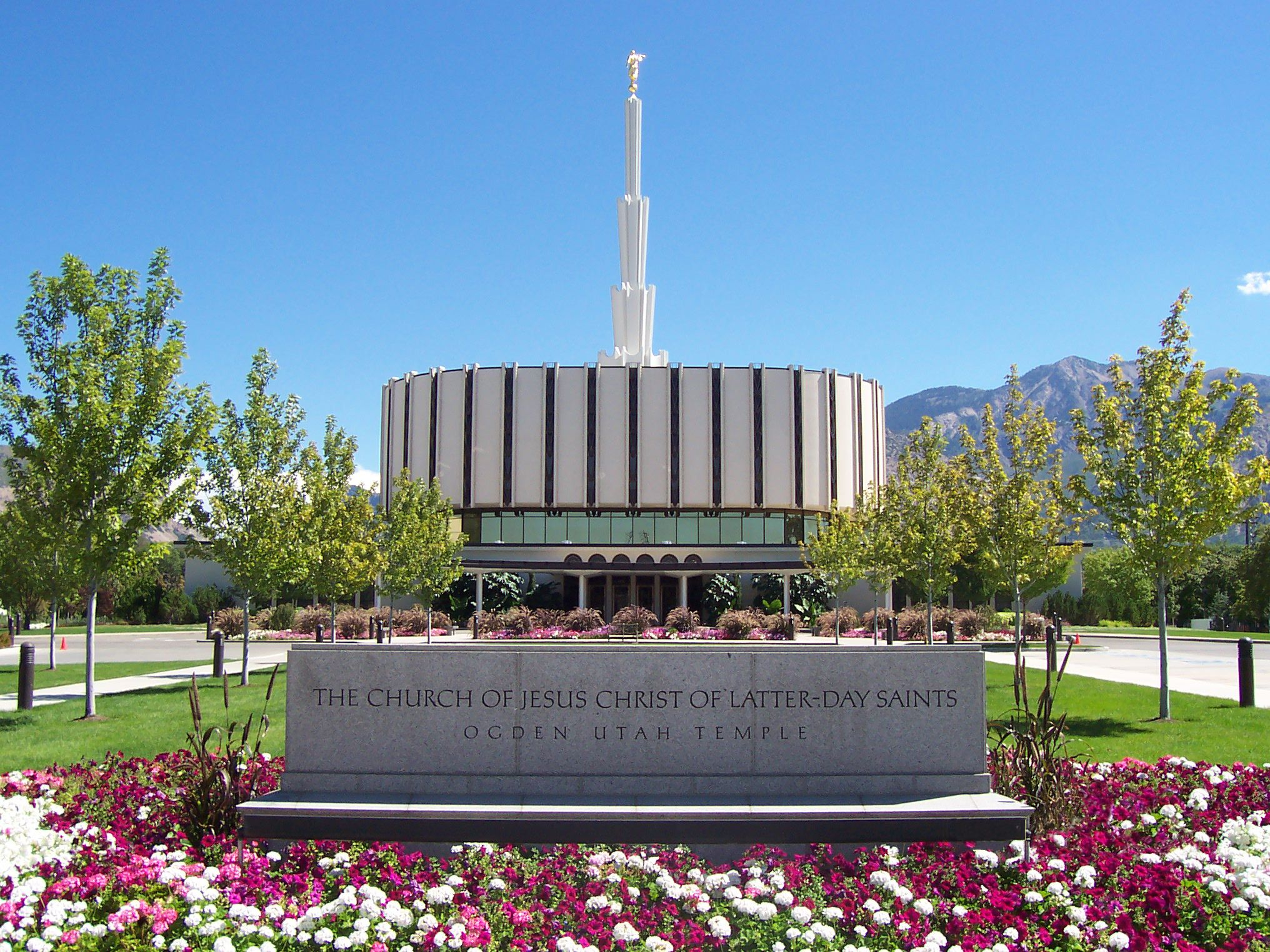 Ogden UT LDS Temple (pre-2011). Enjoyed my visit there with my SIL.