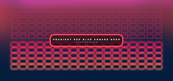 Gradient Red Blue Square Neon Background Neon Backgrounds Blue Square Red And Blue