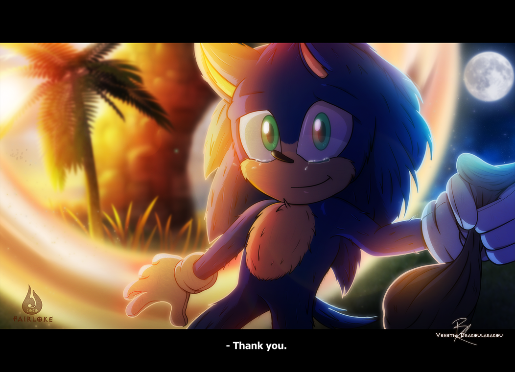 Thank You By Fairloke On Deviantart In 2020 Sonic Hedgehog Movie Sonic The Movie