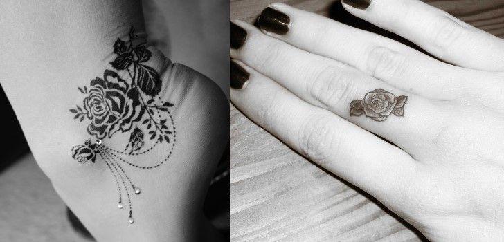 Muito tatuagens-femininas-de-rosas38 | Tatuagens | Pinterest | Melhores  XQ09