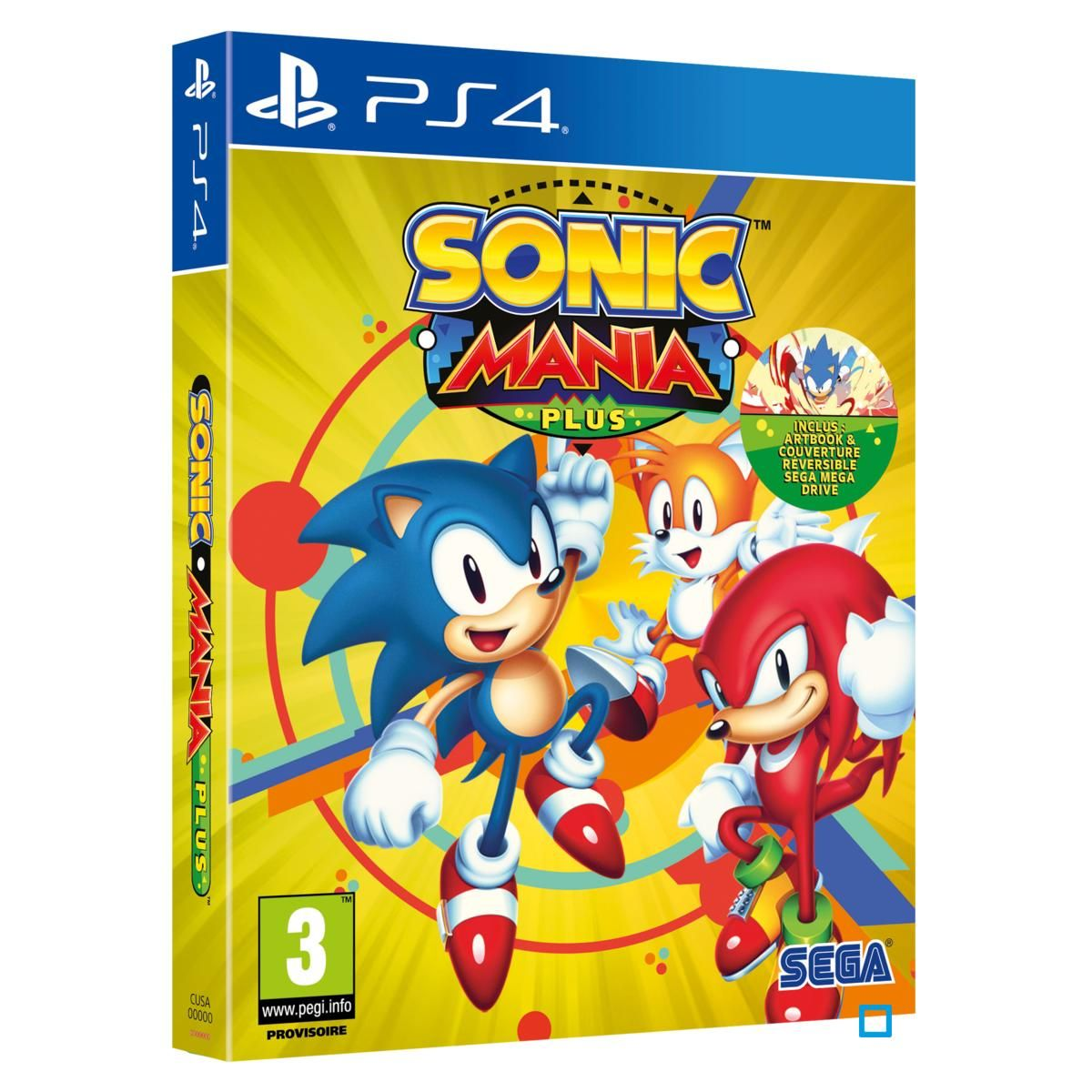 Sonic Mania Plus Ps4 Taille Taille Unique In 2019 Products