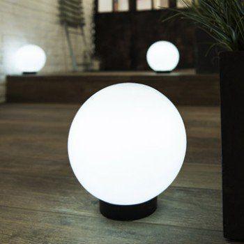 Boule Solaire Blanc Inspire Boule Solaire Eclairage Solaire Et Lampes Solaires