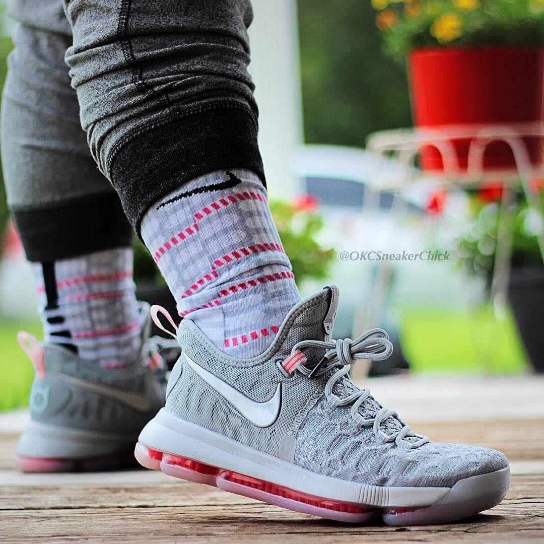 buy popular 36ed0 aa319 KD 9 Pre-Heat aka Zero Custom Nike Elites ONLY @ SneakerWork ...