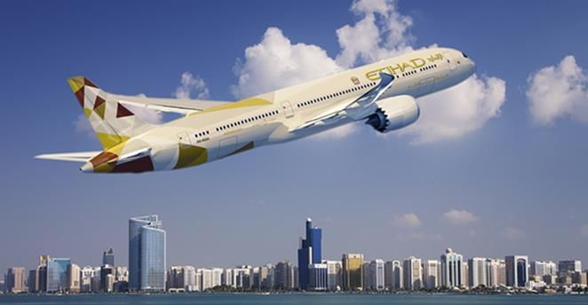 Etihad Airways The National Flag Carrier Of Uae And Its Main Hub Is Located At Abu Dhabi The Airline Travels To O National Airlines Aviation News Air Tickets