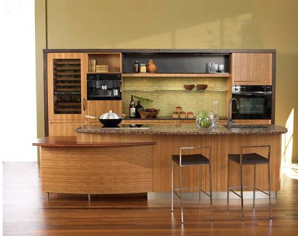 Bamboo Kitchen Design Home Decorating
