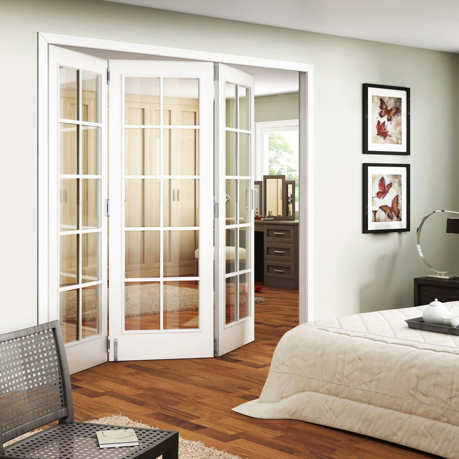 13716 Trifold Interior Sliding French Doors In Bedroom Jpg 1497 1499 Interior Sliding French Doors French Doors Interior Sliding French Doors