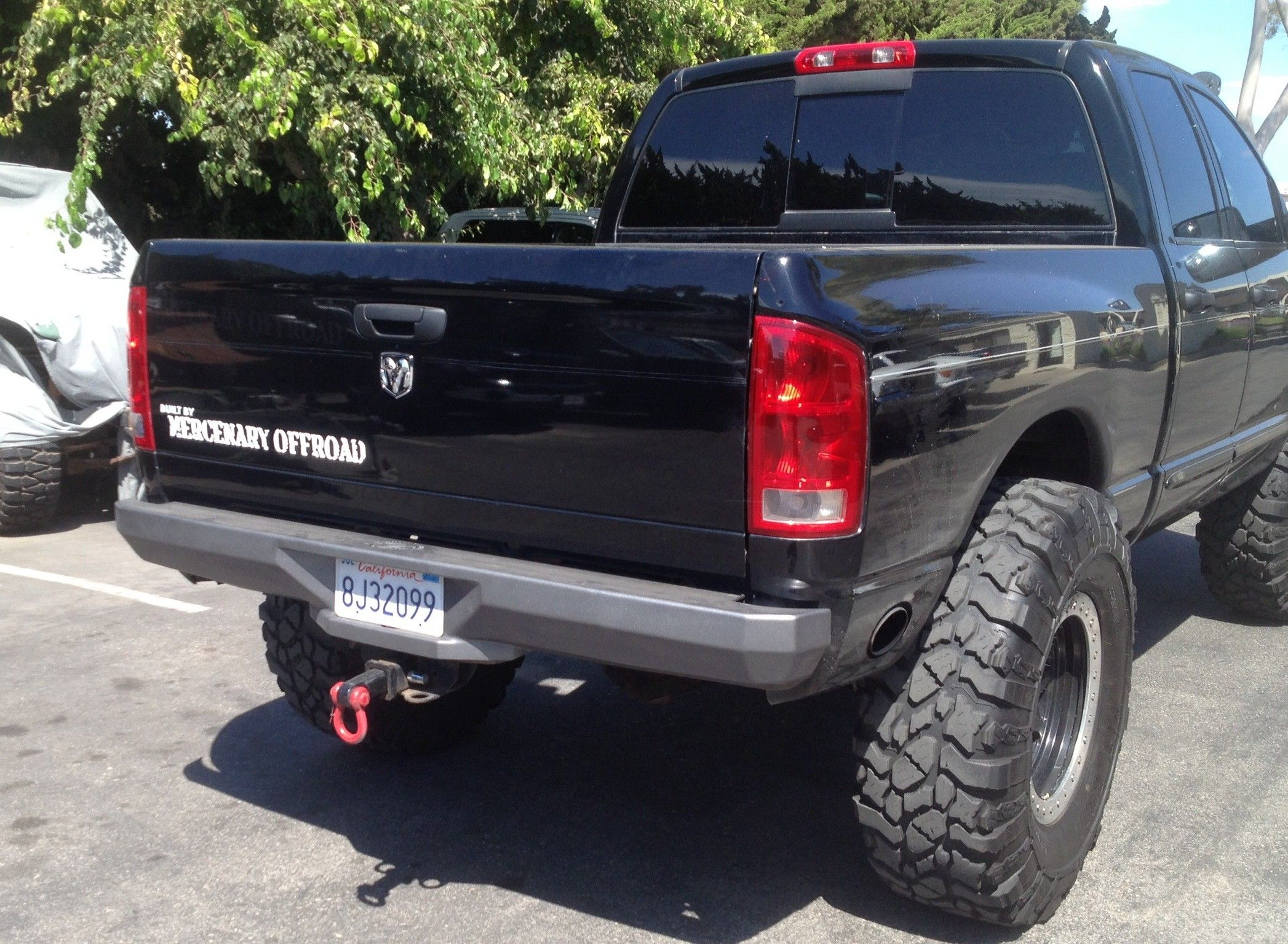 "Mercenary f Road ""A Bomb"" Heavy Duty Dodge Ram 2500 3500 Third"