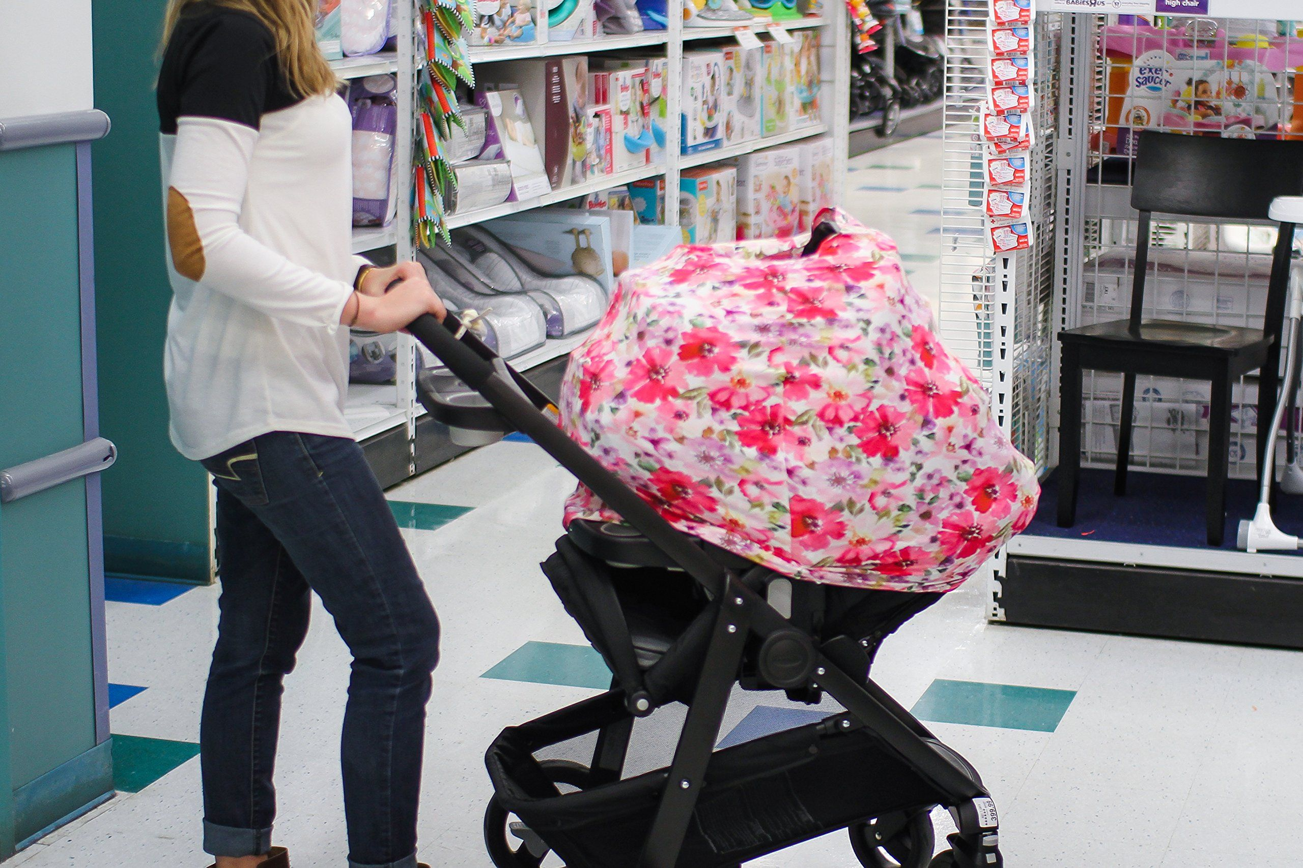Baby Car Seat Cover Nursing Cover for Breastfeeding Moms