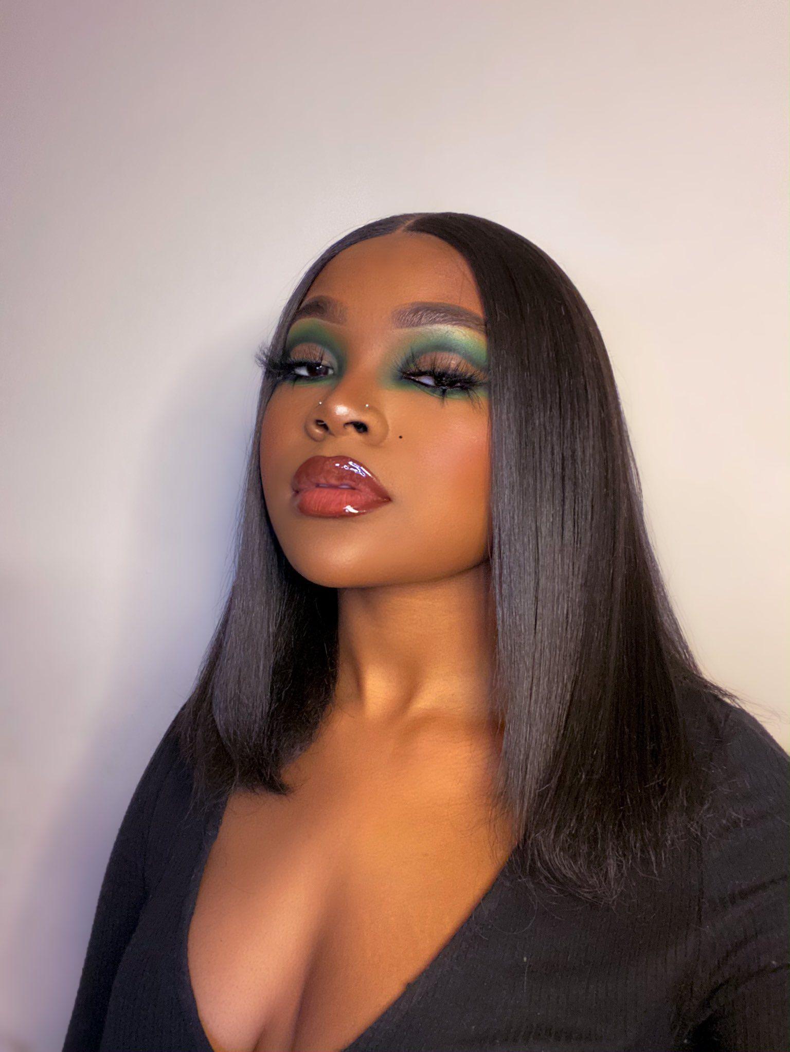 Pin By Alana On Woc Makeup In 2020 Cute Makeup Hair Makeup