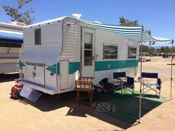 1967 Oasis Completely Restored And Renovated For Sale In San Diego Ca Vintage Camper Vintage Trailers Restoration Vintage Camping
