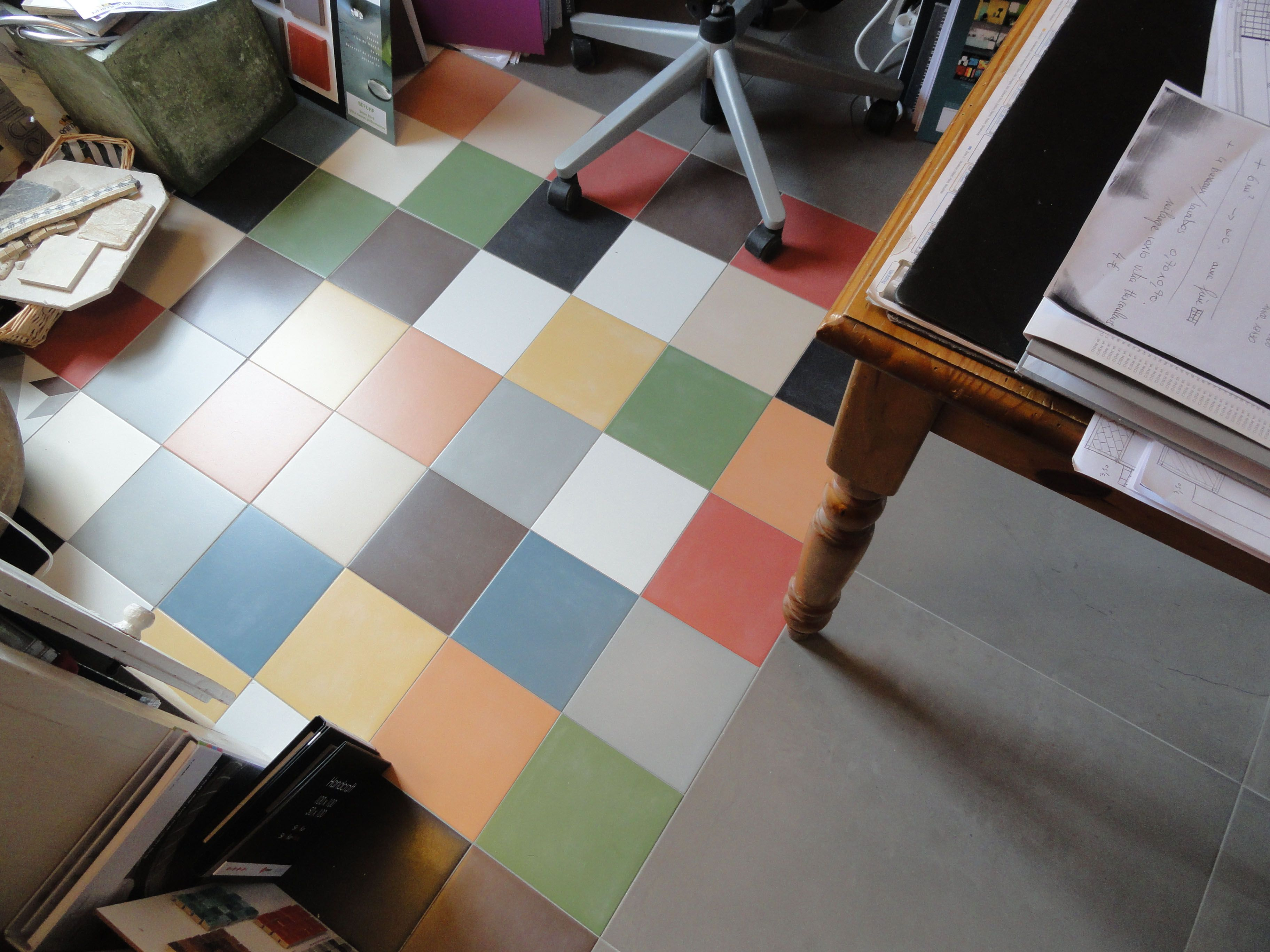 Patchwork colors from neocim collection by kerion for Carrelage kerion