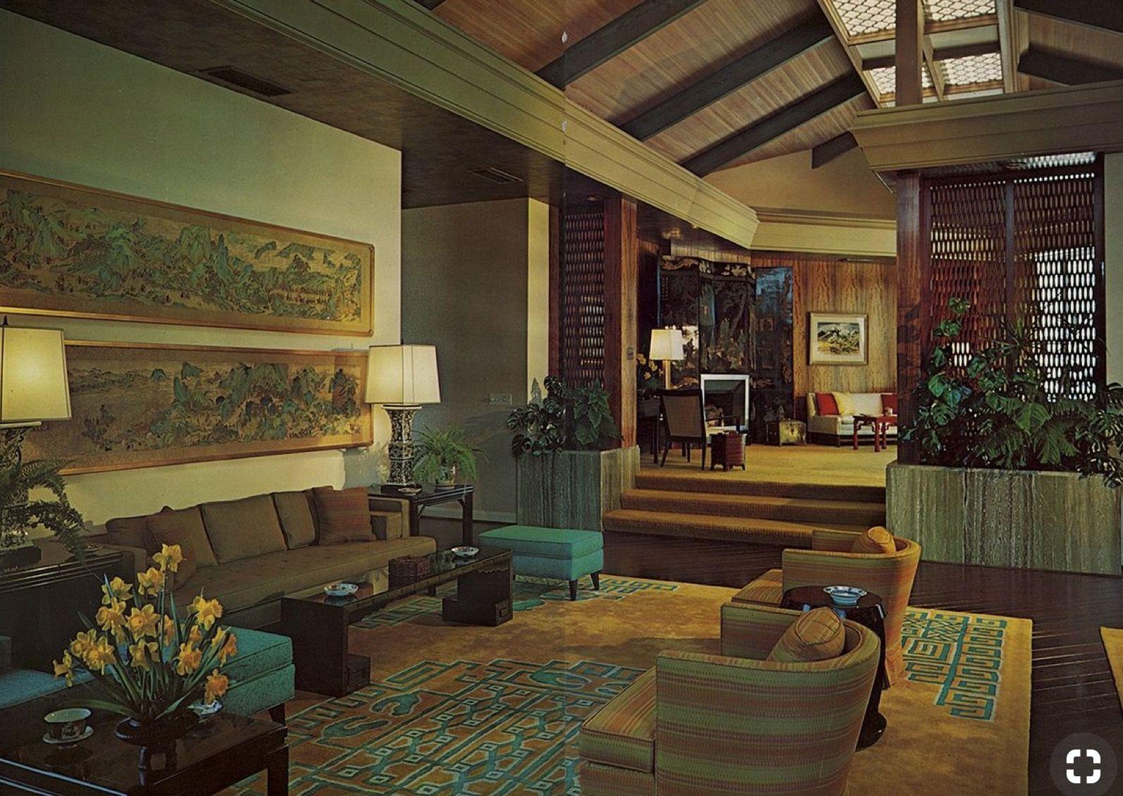Pingl par s bastien dupuy sur old images pinterest design s jour maison et s jour - Idees decors du milieu du siecle salon ...