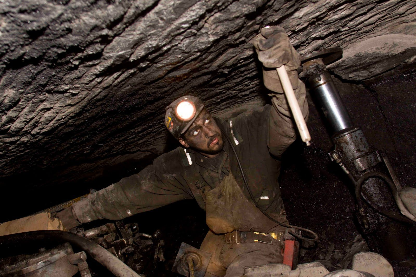 Coal production has begun at an underground mine in