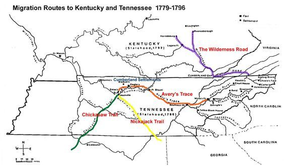 Image result for migration to tennessee