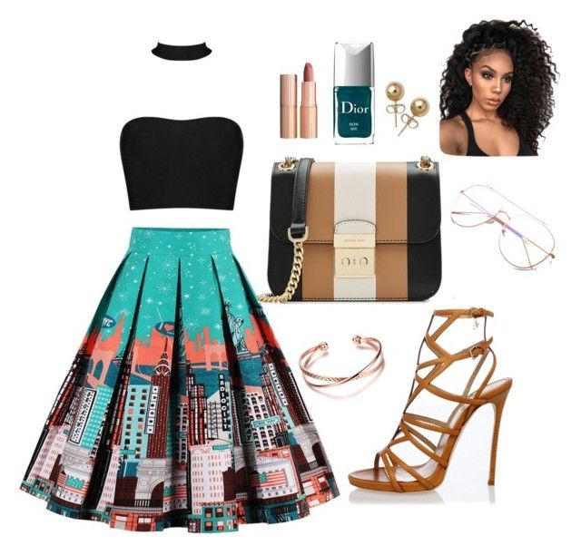 """""""# Outdoors #outfit"""" by lydianin on Polyvore featuring Dsquared2, MICHAEL Michael Kors, Charlotte Tilbury, Christian Dior and Bling Jewelry"""