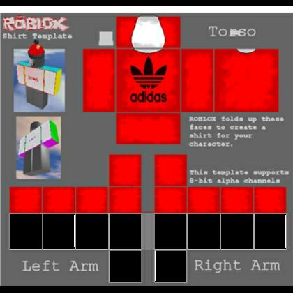 Red Adidas T Shirt Roblox Addidas, Roblox, Adidas