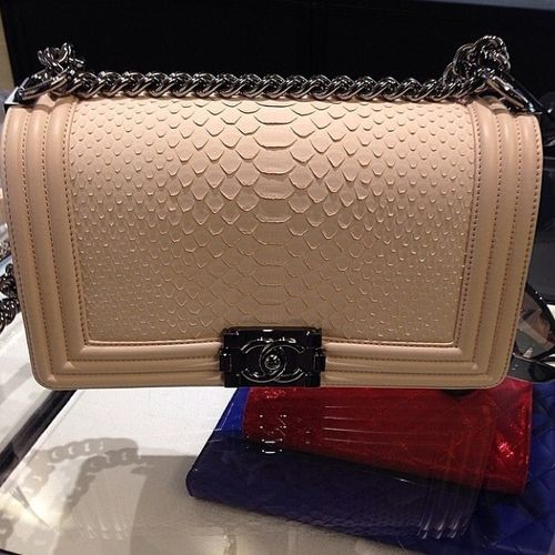 12c110c634974b Chanel Boy Bag: Old Medium versus New Medium | Spotted Fashion | Bag ...