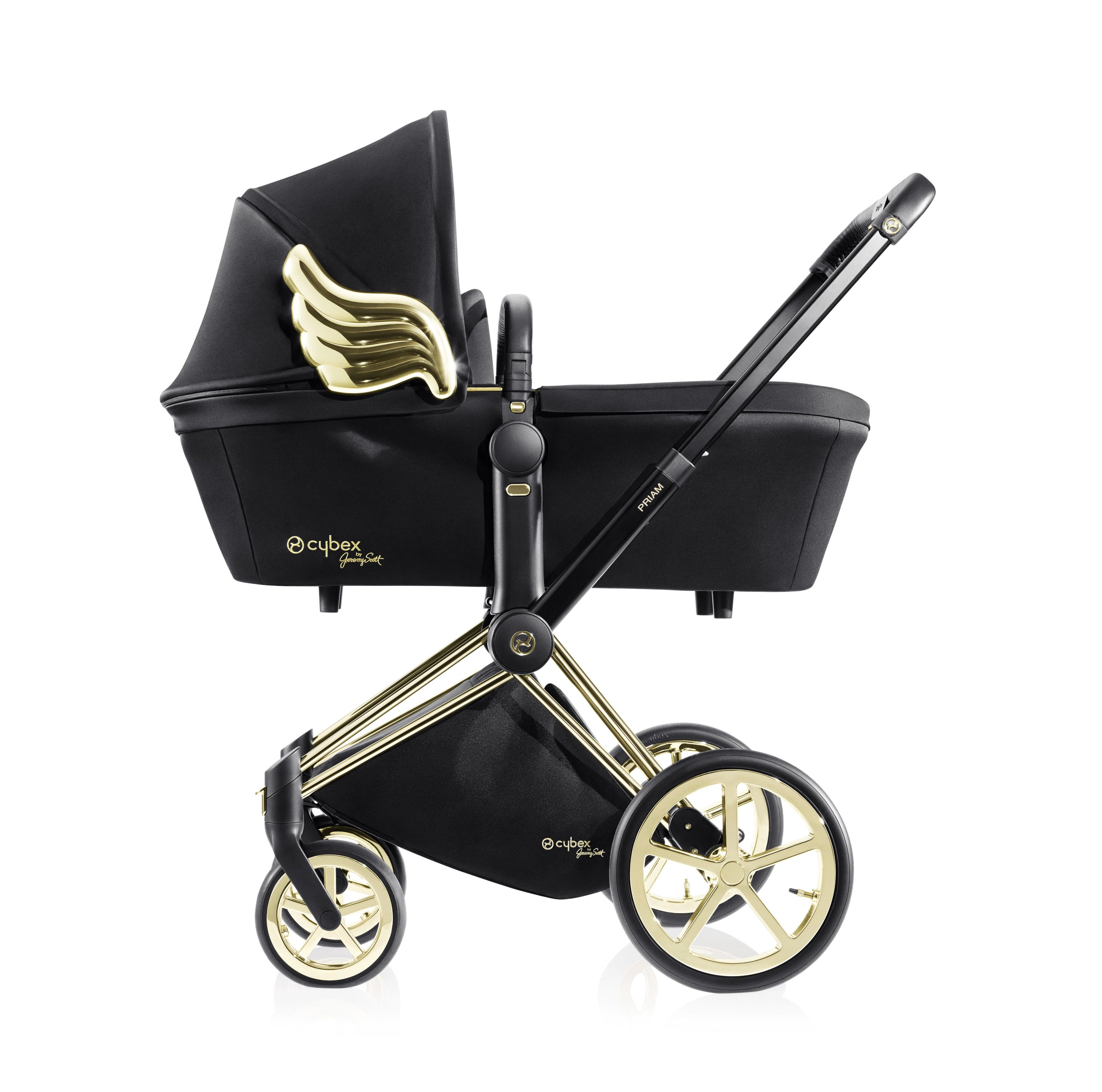 CYBEXbyJeremyScott PRIAM with Carry Cot Baby strollers