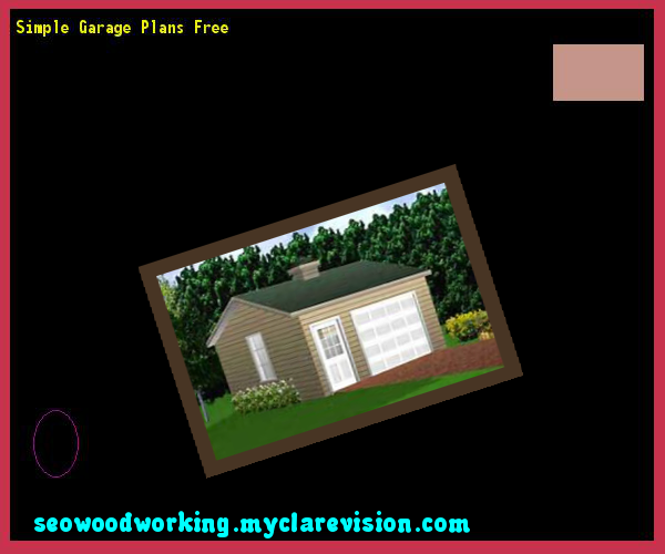 Simple Garage Plans Free 160724 Woodworking Plans and Projects – Simple Garage Plans Free