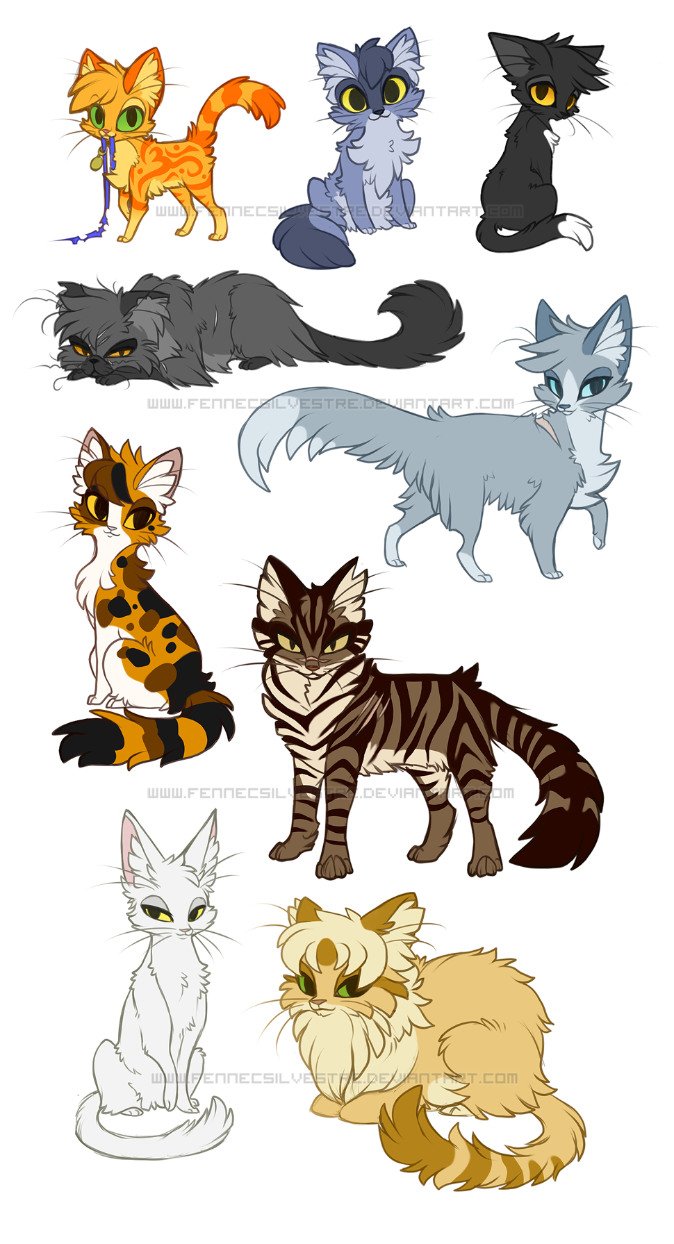 undefined Warrior cats books, Warrior cat drawings