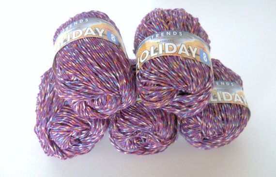 Adriafil Holiday 8 Cotton Blend Yarn Summer Yarn in by Pikeys, $4.00