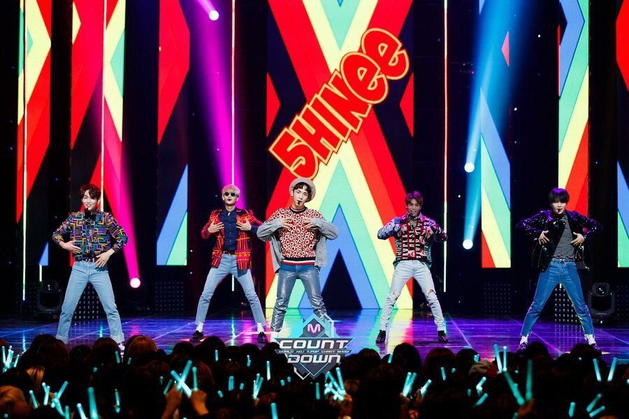 161024 #SHINee - Mnet Mcountdown Official Website Update #Mihno #Taemin