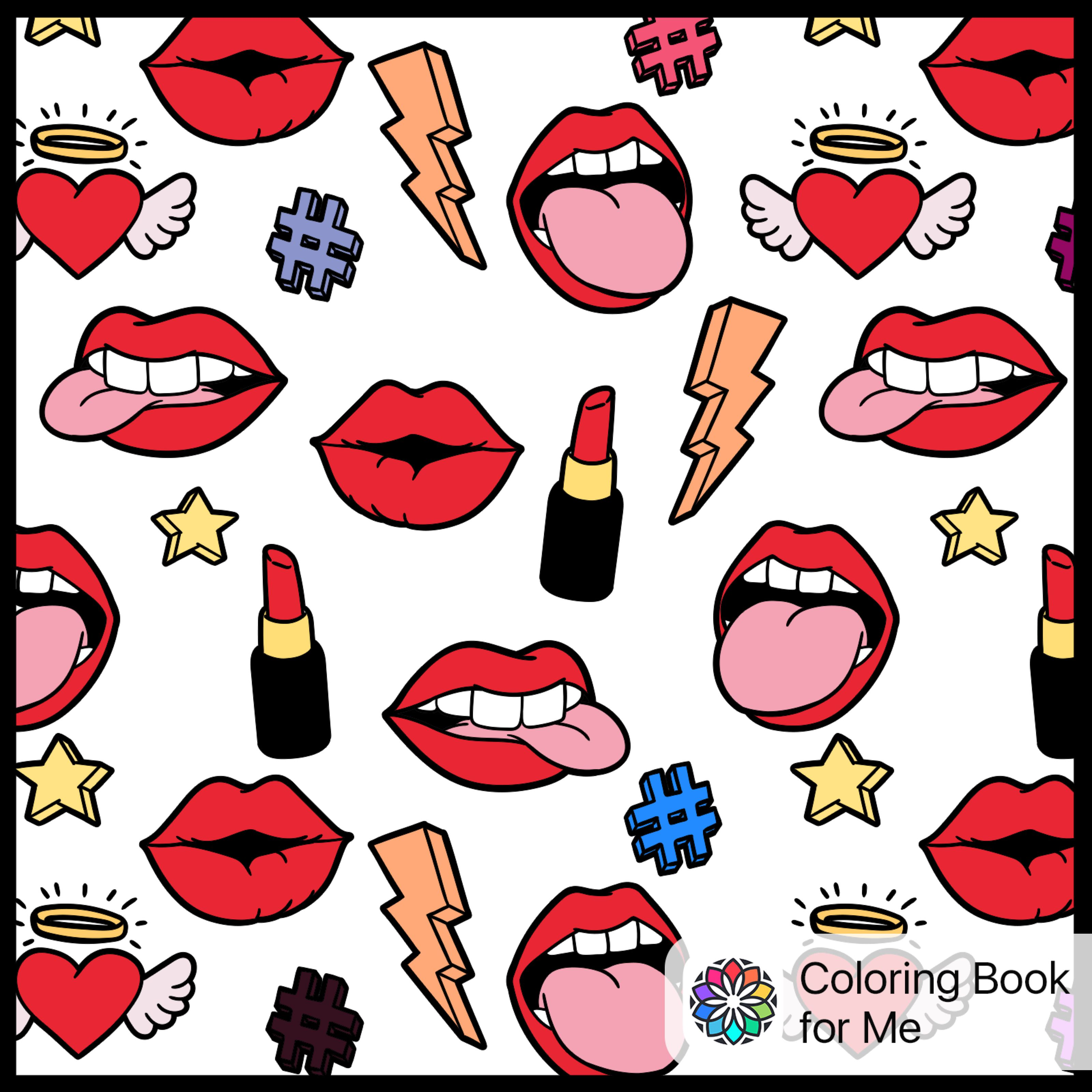 Colored with: Colouring Book for Me