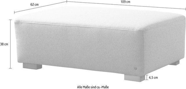 Hockerbank »HEAVEN CHIC«, aus der COLORS COLLECTION, Breite 109 cm