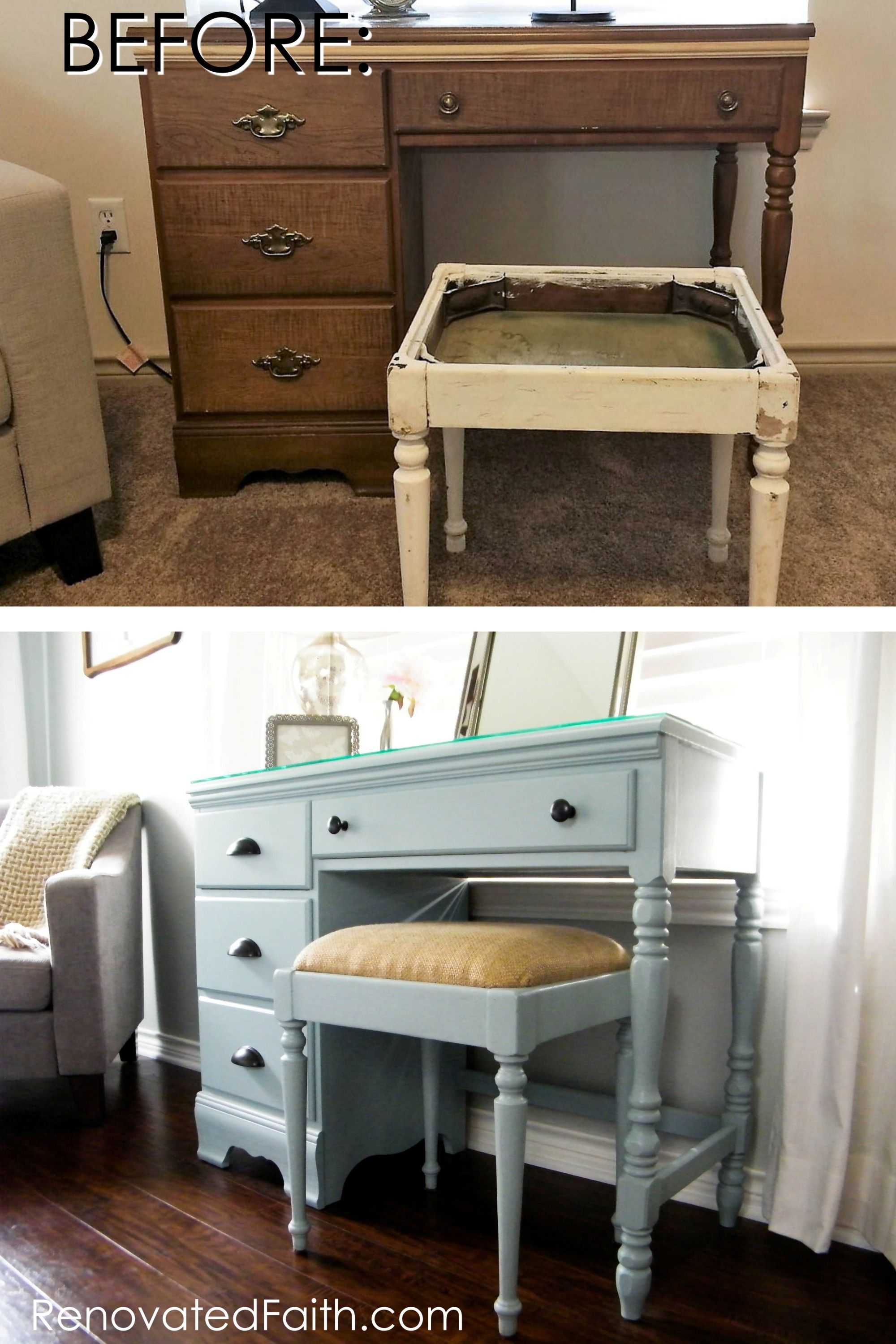 Before and after diy furniture makeovers my best