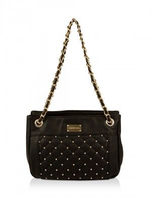 Forever New Rivet Stud Quilted Bag