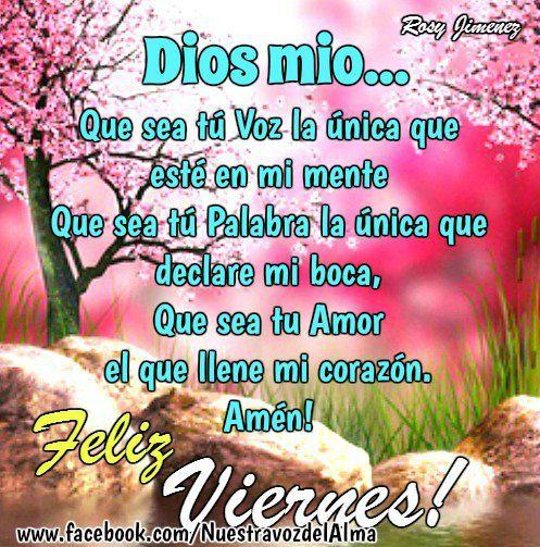 Feliz Viernes Gracias A Dios Its Friday Quotes Good