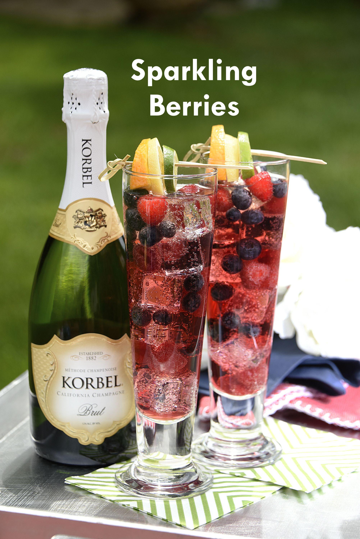 Cocktail Recipes Recipe Champagne Recipes Cocktails Korbel Champagne Recipes 4th Of July Cocktails