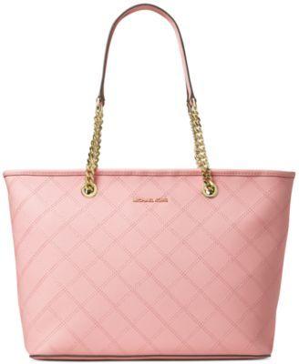 MICHAEL Michael Kors Jet Set Travel Chain Top Zip Multifunction Bag-in-Bag  Tote - Designer Handbags - Handbags \u0026 Accessories - Macy\u0027s