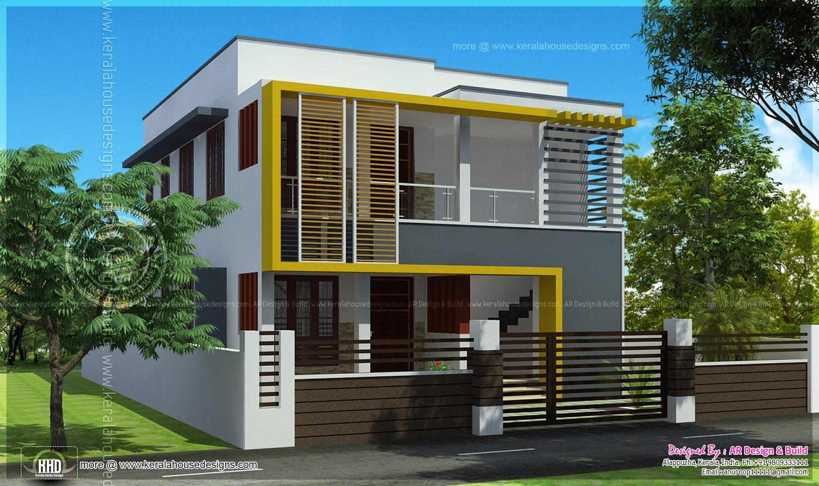 Home Exterior Design Keralahousedesigns Ideas Plans For First Floor Total Area Bedrooms Best Free Idea Inspiration