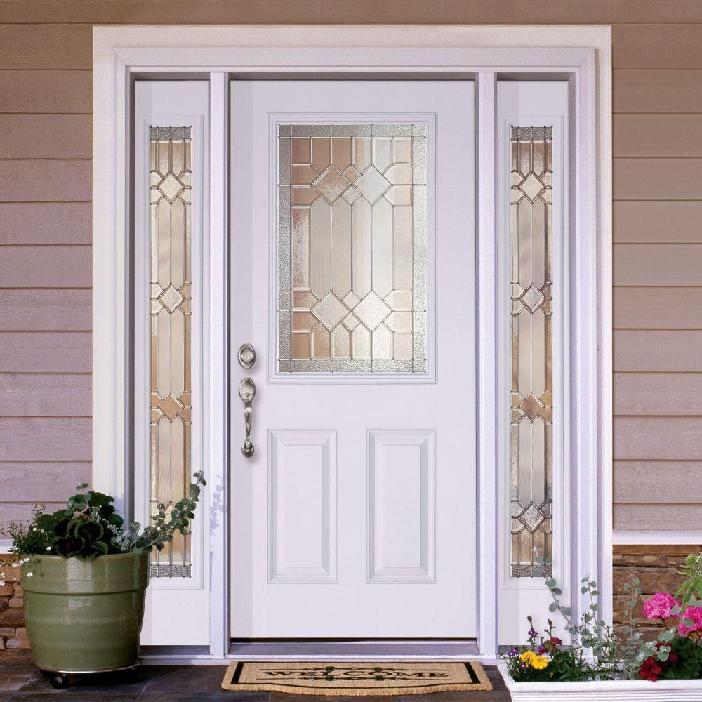 Feather River Doors 63 5 In X81 625 In Mission Pointe Zinc 1 2