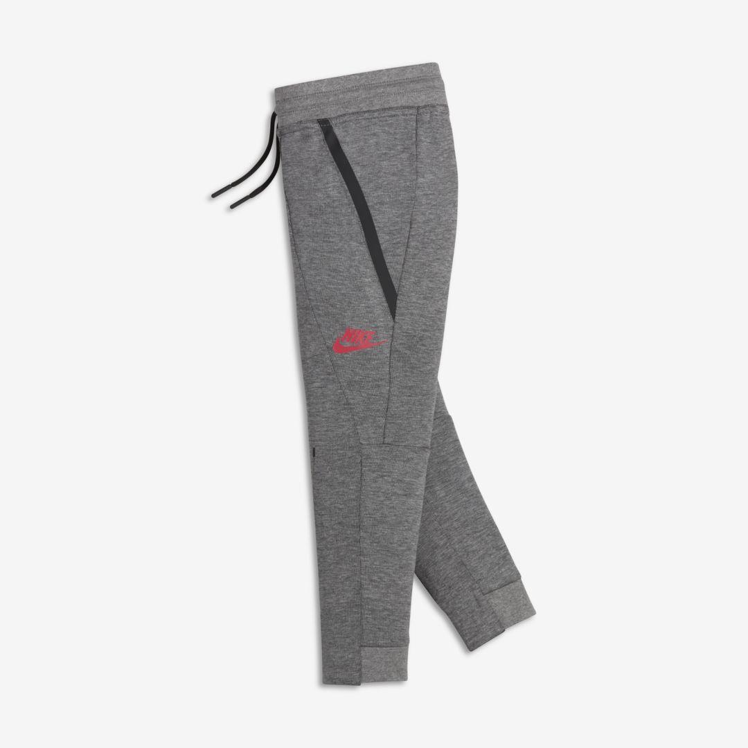 b1805d6a8 Nike Sportswear Tech Fleece Little Kids' (Girls') Pants Size 5 (Carbon  Heather)