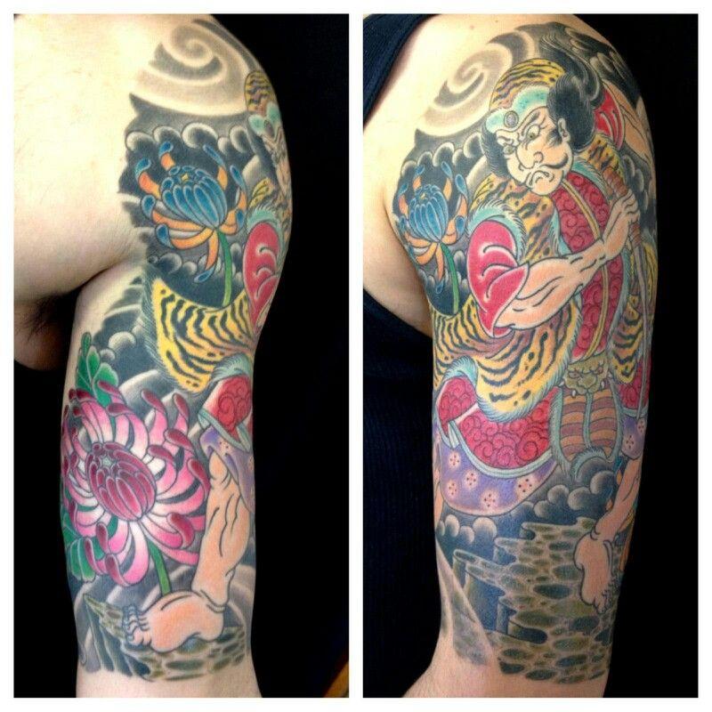 Pin On Oriental Tattoo